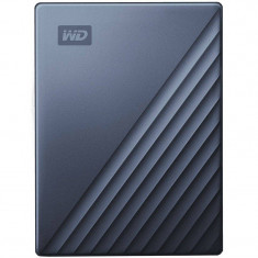 Hard disk extern WD My Passport Ultra 5TB 2.5 inch USB 3.0 Blue