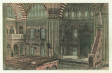 cp Constanta : Interiorul geamiei turcesti - anii 1920