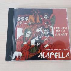 Trei crai de la Rasarit-cd colinde de Craciun cu grupul Acapella,nou!
