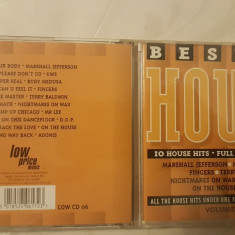 [CDA] V.A. - Best of House - 10 House hits Full Lenght Versions - cd audio