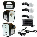 Cumpara ieftin KIT SOLAR CU BECURI INCLUSE,ACUMULATOR,PANOU SOLAR,USB,LANTERNA,IDEAL CAMPING!