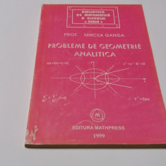 Probleme de geometrie analitica de Mircea Ganga-RF14/3