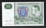 Suedia  10  Kronor 1990 -P 52- UNC
