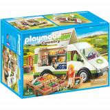 Set de Constructie Rulota cu Legume - Family Fun, Playmobil