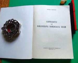 Daniela Poenaru - Contributii la bibliografia romaneasca veche (1973)