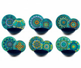 Cumpara ieftin Set de masa 18 piese Mandala Mediterraneo
