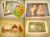A911-Carti postale cu copii vechi anii intre 1910-1930. Pret pe bucata.
