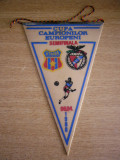 MCFA - FANION - STEAUA BUCURESTI - BENFICA LISABONA - CCE - 06 APRILIE 1988