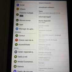 "Tableta Samsung Galaxy Tab E T561, 9.6"", Quad-Core 1.3 GHz, 1.5GB RAM, 8GB, 3G, 8 GB, Wi-Fi"