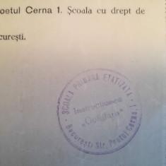 1939, Declarație Școala etatizată a Comunități evreiești/ Instrucțiunea-Goldfarb