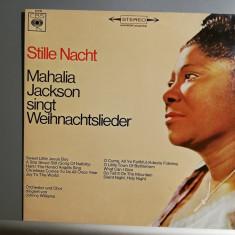 Mahalia Jackson – Silent Night (1974/CBS/Holland) - Vinil/Impecabil