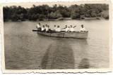 Fotografie soldati romani barca Braila 1941