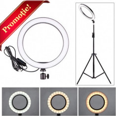 Cumpara ieftin Lampa Profesionala LED Circulara Make UP Photo Studio Selfie Telefon Ring Light 50W