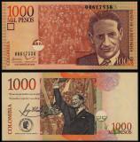 = COLOMBIA - 1000 PESOS - 2016 - UNC   =
