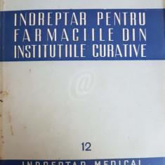 Indreptar pentru farmaciile din institutiile curative