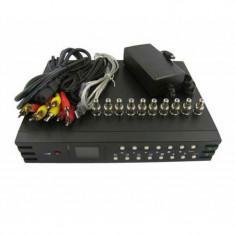 DVR 4 canale cu cabluri, 12V DC/1A