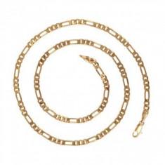 Lant unisex dublu placat Aur 18k,lungime 50cm