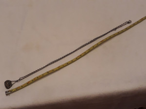 MEDALION argint POSETUTA in filigran FRANTA 1900 exceptional RAR pe Lant ARGINT