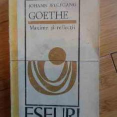 Maxime Si Reflectii - Johann Wolfgang Goethe ,536831