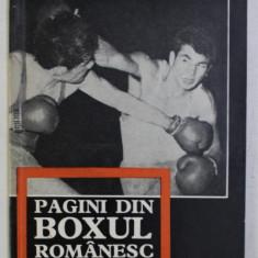 PAGINI DIN BOXUL ROMANESC de PAUL OCHIALBI , PETRE HENT , 1969