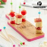 Set de Bambus pentru Aperitive Planșetă TakeTokio (16 Piese)