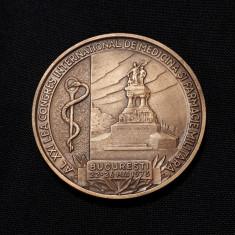 Medalie Medicina si farmacie militara - 1978 - Congresul inter. Bucuresti