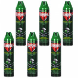 6 x Baygon universal, spray insecticid parfumat, tantari, gandaci, 6 x 400ml