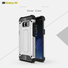 Husa Samsung Galaxy S8 - Hybrid Armor Silver