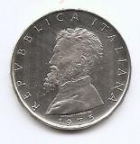 Italia 500 Lire 1975 (Michelangelo) Argint 11g/835, 29.3 mm KM-104  aUNC