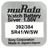 Baterie de ceas Murata 392 / 384 AG3 SR41SW 1.55V 1 Bucata /Set