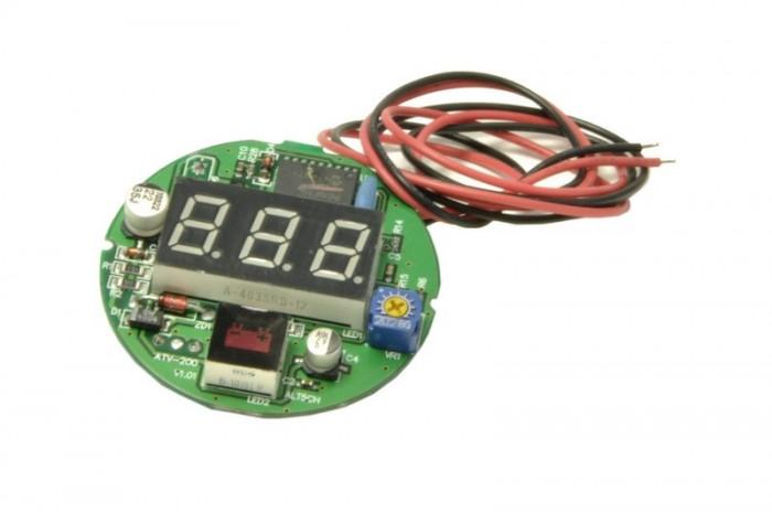 Tester digital voltmetru circuit
