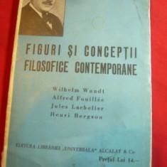 Ion Petrovici - Figuri si Conceptii Filozofice Contemporane BPT 1351-1352 ,142p