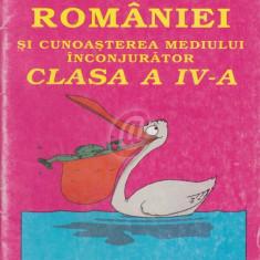 Geografia Romaniei si cunoasterea mediului inconjurator, clasa a IV-a