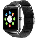 Ceas Smartwatch cu Telefon iUni GT08s Plus, Curea Metalica, Touchscreen, BT, Camera, Notificari, Aluminiu