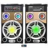 Boxe Ailiang, 120W, Karaoke, USB, Bluetooth, Card, Radio FM, Telecomanda