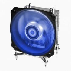 Cooler CPU ID-Cooling SE-912i-B Blue LED, Ventilator 120mm, Heatpipe-uri Cupru