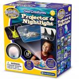 Lampa de Veghe si Proiector Animale Marine Brainstorm Toys E2059 B39017007