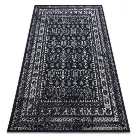 Covor Vintage 22212996 negru clasic, 120x170 cm
