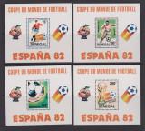 SENEGAL 1982 FOTBAL CUPA MONDIALA DIN SPANIA, Nestampilat