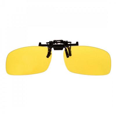 Ochelari de noapte si ceata clip-on, flip-up foto