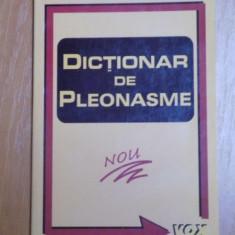 DICTIONAR DE PLEONASME de DOINA DASCALU