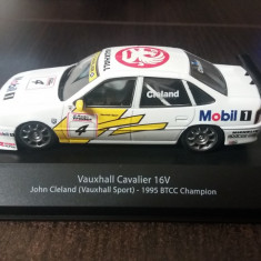 macheta vauxhall cavalier ( opel vectra ) 16v btcc 1995 - atlas, 1/43, noua.