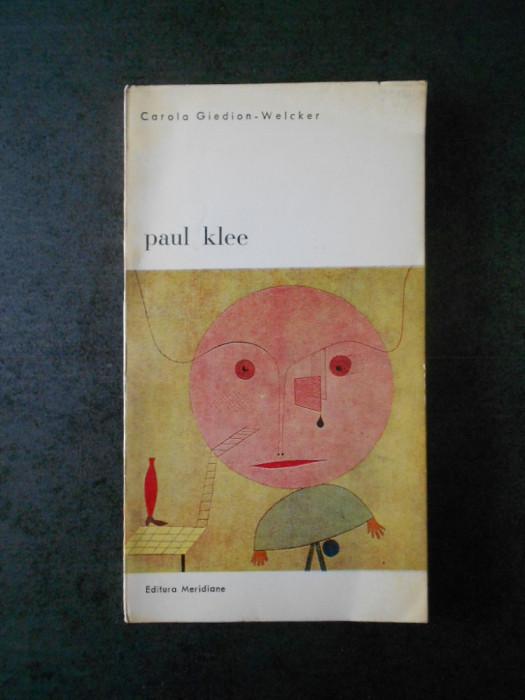 CAROLA GIEDION WELCKER - PAUL KLEE