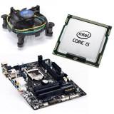 Cumpara ieftin KIT Placa de baza GIGABYTE GA-H81M-HD3, Intel Core i5 4460 3.2GHz, Cooler CPU