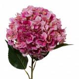 Fir floare artificiala, Hydrangea XXL Roz inchis, H111 cm