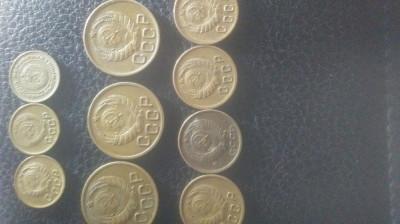 Lot moneda CCCP foto