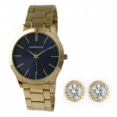 Ceas Gold Beaubourg Cacharel Cercei Gold Halo