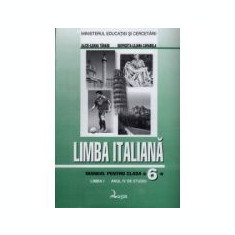 Manual de limba italiana, clasa VI-a (Anul IV de studiu-Limba1)