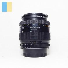 Obiectiv Nikon AF Nikkor 35-70mm f/3.3-4.5