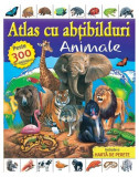 Atlas cu abțibilduri. Animale